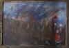 Uta Richter 1994 Golem Demonstrationszug mit Rotkäppchen 79x113cm