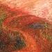 Uta Richter 1995 Weg 39x39 cm
