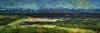 Uta Richter 1998 Atlantik bei Scylla 106x37 cm