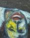 Uta Richter 2000 Eux - noche boca arriba 50x40 cm