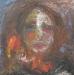 Uta Richter 2000 Flor Roja 50x50 cm