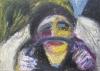 Uta Richter 2000 Isadora Duncan 70x50 cm