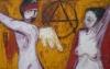 Uta Richter 2001 Liebe und Revolution 102x155 cm