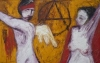 Uta Richter 2001 Amour et Revolution 102x155 cm