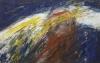 Uta Richter 2001 Engel im Tiefflug 65x100 cm