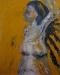 Uta Richter 2001 Marianne mit Brustkrebs 100x80 cm