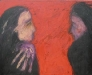 Uta Richter 2001 Mutters Hände 80x100 cm
