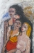 Uta Richter 2002 Berliner Orgie  150 x100 cm