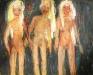 Uta Richter 2002 Drei Grazien 80x100 cm