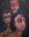 Uta Richter 2002 Glaube, Liebe Hoffnung 100x80 cm