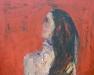 Uta Richter 2002 Selbstporträt 80x100 cm