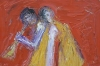 Uta Richter 2003 Orphée et Eurydice 24x36 cm