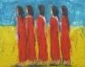 Uta Richter 2005 Amazones 80x100 cm