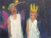 Uta Richter 2005 La Jouissance de l'Oubli (carnaval des enfants) 18x24cm
