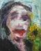 Uta Richter 2006 Eurydike mit Sonnenblume  50x40 cm