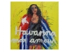 Havanna mon amour, canvas folding screen 1,50 x 1,50 m