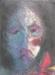 Uta Richter 1996 Flor Roja 35,7x26,3 cm