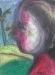 Uta Richter 1997 Flor Roja 35,7x26,3 cm