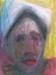 Uta Richter 1998 Flor Roja 35,7x26,3 cm